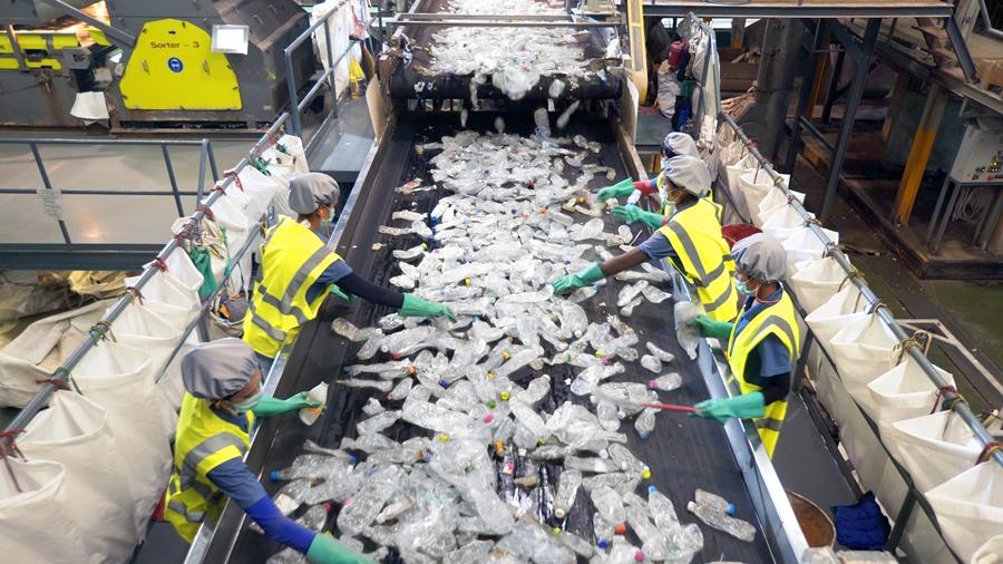 โรงงานรีไซเคิลพลาสติก ขวด PET