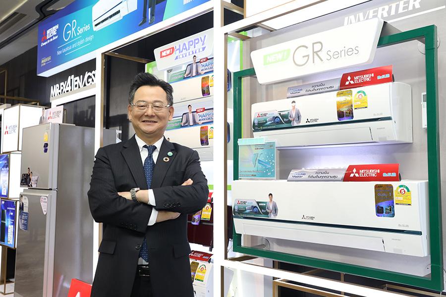 นายยาซุชิ โมริยามะ กรรมการผู้จัดการ บริษัท มิตซูบิชิ อีเล็คทริค กันยงวัฒนา จำกัด