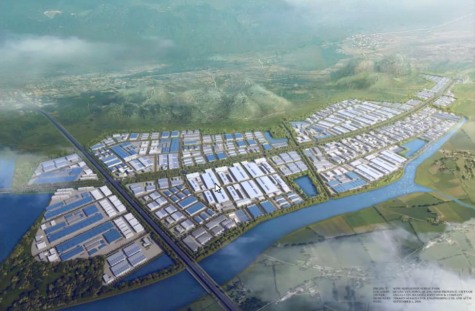 นิคมอุตสาหกรรมอมตะซิตี้ ฮาลอง ในเวียดนามเหนือ